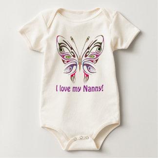 I Love My Nanny! Baby Bodysuit