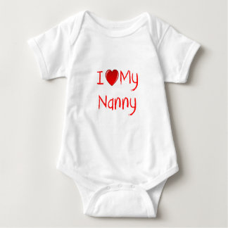 I Love My Nanny Infant & Toddler T-Shirts