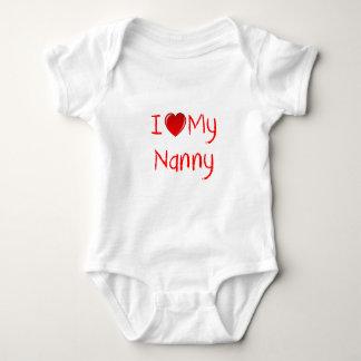 I Love My Nanny Infant & Toddler T-Shirts