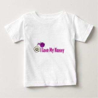 I Love My Nanny Tee Shirt