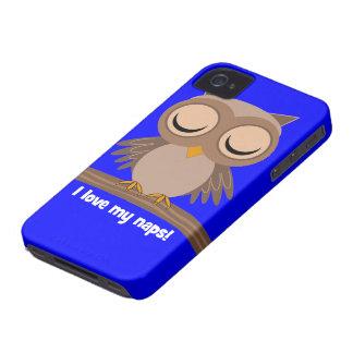 I love my naps owl iPhone 4 case