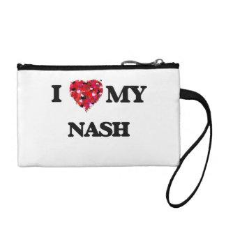 I Love MY Nash Coin Purses