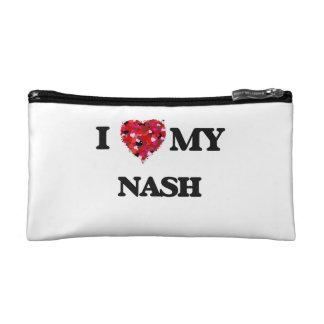 I Love MY Nash Makeup Bags