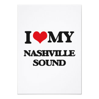 I Love My NASHVILLE SOUND Invite