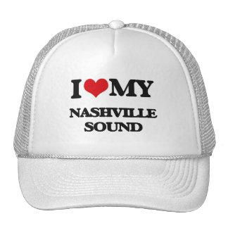 I Love My NASHVILLE SOUND Trucker Hat