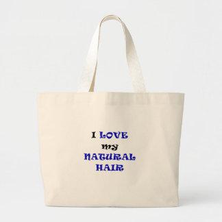 I Love my Natural Hair Bags