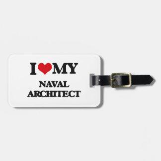 I love my Naval Architect Travel Bag Tag