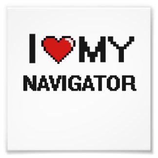 I love my Navigator Photo Print