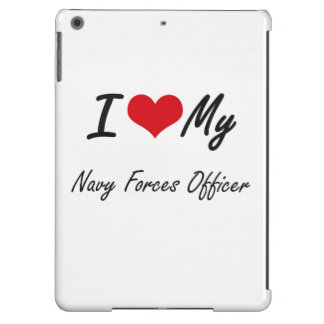 I love my Navy Forces Officer iPad Air Covers