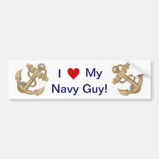 I love My Navy Guy Gal Anchor Bumper Sticker