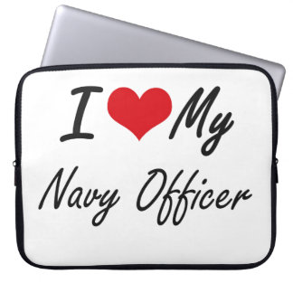 I love my Navy Officer Laptop Sleeves