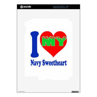 I love my Navy Sweetheart. iPad 2 Skins