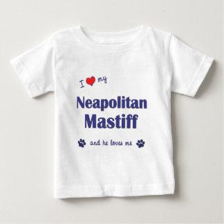 I Love My Neapolitan Mastiff (Male Dog) Baby T-Shirt