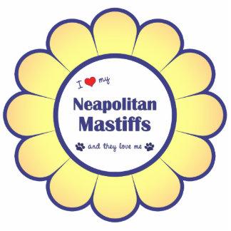I Love My Neapolitan Mastiffs (Multiple Dogs) Statuette