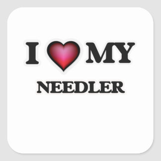 I love my Needler Square Sticker