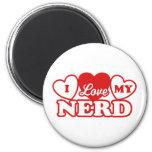 I Love My Nerd Magnets