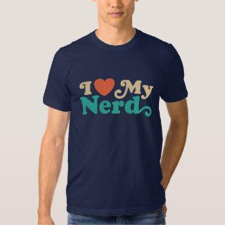 I Love My Nerd Tee Shirt