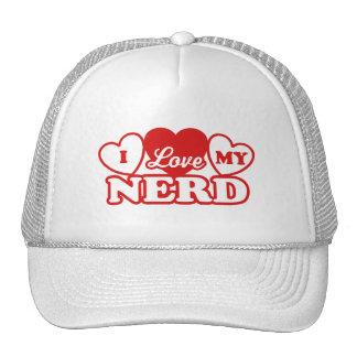 I Love My Nerd Trucker Hat