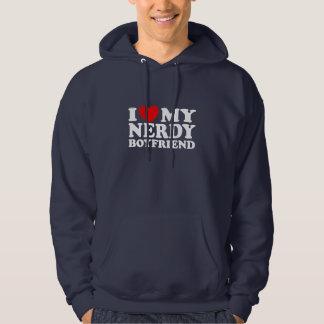 I Love My Nerdy Boyfriend Hoodie