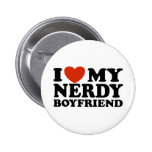 I Love My Nerdy Boyfriend Pins