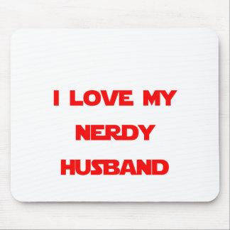 I Love My Nerdy Husband Mouse Pad