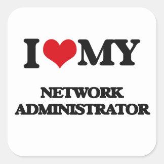 I love my Network Administrator Sticker