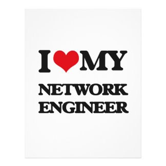I love my Network Engineer Flyer