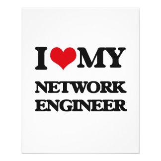 I love my Network Engineer Flyers