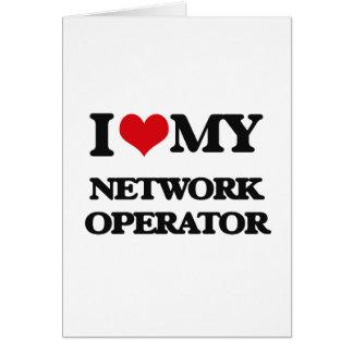 I love my Network Operator Card