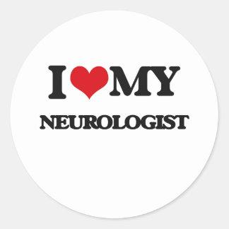 I love my Neurologist Stickers