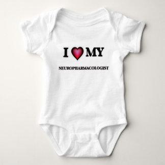 I love my Neuropharmacologist Baby Bodysuit