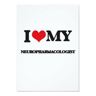 I love my Neuropharmacologist Custom Announcement