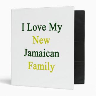 I Love My New Jamaican Family Binder