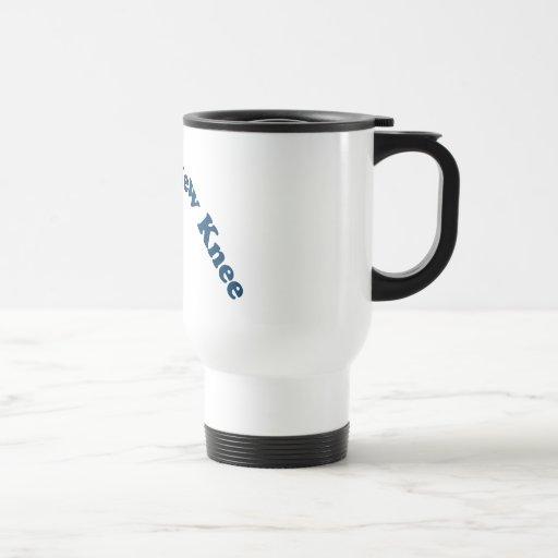 I Love My New Knee Coffee Mugs