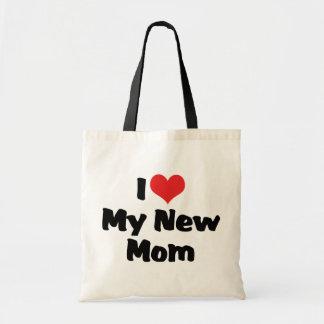 I Love My New Mom Tote Bag