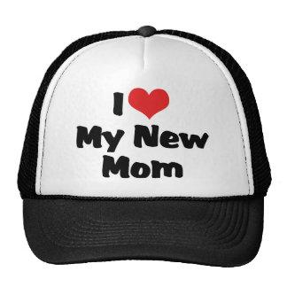I Love My New Mom Trucker Hat