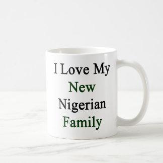 I Love My New Nigerian Family Mug