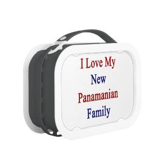 I Love My New Panamanian Family Yubo Lunch Box