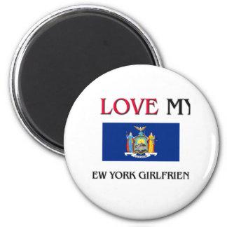 I Love My New York Girlfriend Fridge Magnet