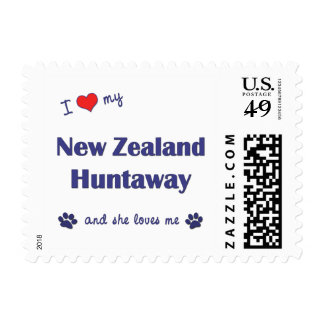 I Love My New Zealand Huntaway (Female Dog) Postage
