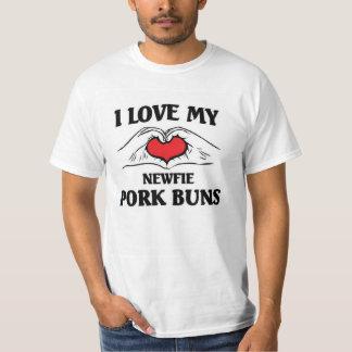 I love my newfie Pork Buns T-Shirt