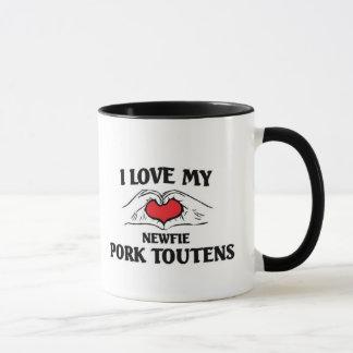 I love my Newfie Pork Toutens Mug