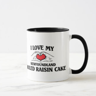 I love my Newfoundland Boiled Raisin cake Mug