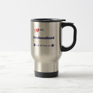 I Love My Newfoundland (Female Dog) Mug