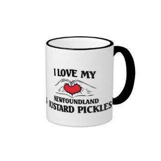 I love my Newfoundland Mustard Pickles Ringer Coffee Mug