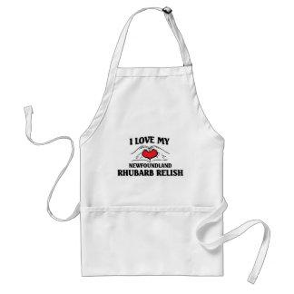 I love my Newfoundland Rhubard Relish Adult Apron