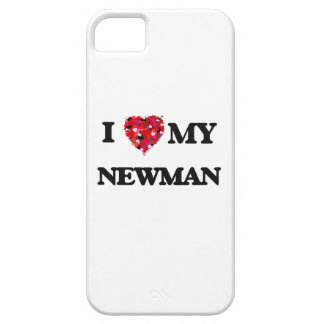 I Love MY Newman iPhone 5 Covers