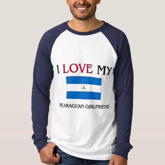 I Love My Nicaraguan Girlfriend T-Shirt