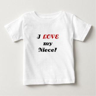 I Love my Niece Baby T-Shirt
