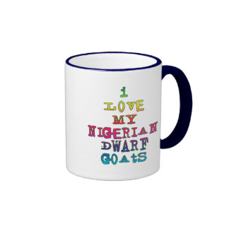 I Love My Nigerian Dwarf Goats Coffee Mugs